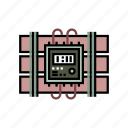 clock, countdown, danger, detonator, dynamite, explosion, time bomb icon