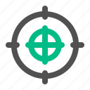 aim, army, military, scope, target, war icon
