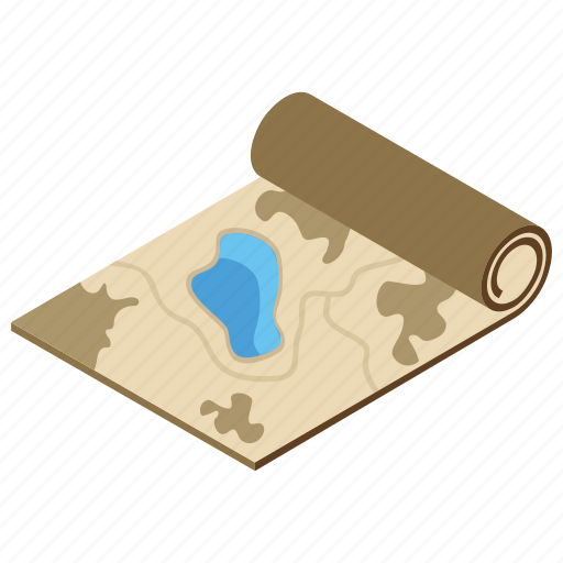army map, geographic outline, location chart, military map, projection icon