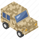 transportation, armored vehicle, army van, army jeep, military car