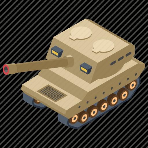 big bertha, cannon, heavy artillery, war equipment, weapon icon