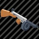 fast-action gun, machine gun, mg, rifle, war equipment, weapon icon