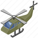 air apache, aircraft, airjet, army helicopter, military vehicle icon