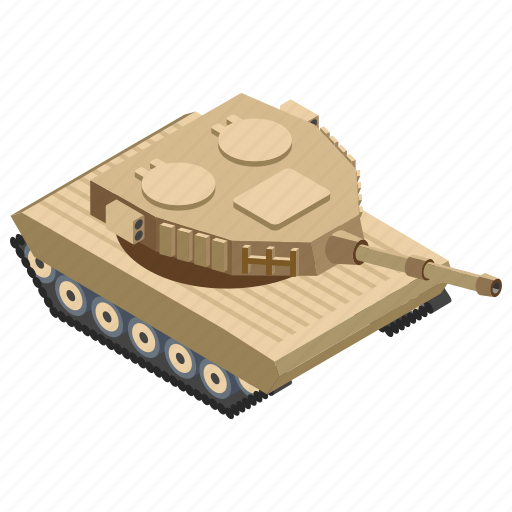 armoured vehicle, army tank, military panzer, tanker, war transportation icon