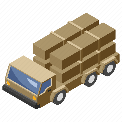 armored vehicle, army wares, military truck, transportation, weapon carrier icon