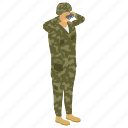 commando, fighter, military person, serviceman, soldier icon