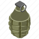 atom bomb, bomb, bombshell, exploding weapon, explosion, mine, missile icon