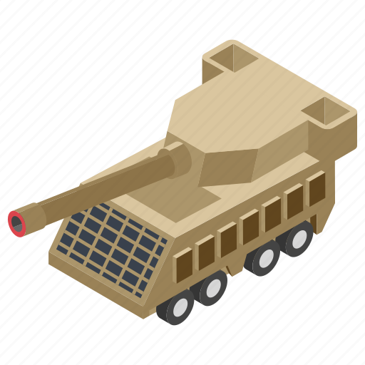 big bertha, cannon, heavy artillery, heavy gun, panzer, war equipment, weapon icon