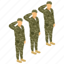 army group, commando, fighter, military persons, serviceman, soldier team icon