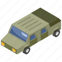 armored vehicle, army car, army jeep, military van, transportation icon