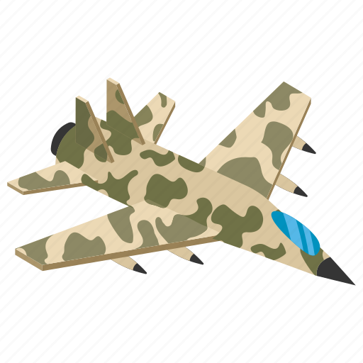 air fighter, airjet, bomber, flying saucer, military aircraft icon