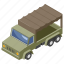 armored vehicle, army car, ary van, military jeep, transportation icon