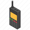 cordless phone, handheld transceiver, intercom, military communication, walkie talkie icon