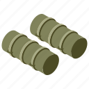 ], big bertha, cannon, heavy artillery, heavy gun, war equipment, weapon icon
