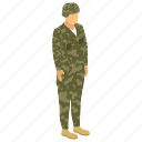 commando, fighter, military person, serviceman, soldier