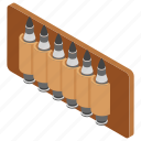 ammunition, bomb, bullet, missile, projectile, shell, small rocket icon