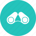 binoculars, equipment, lens, object, telescope, view, watching icon