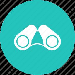 binoculars, equipment, lens, object, telescope, view, watching icon