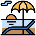 bussiness, finance, habits, marketing, milionaire, relax, summer icon