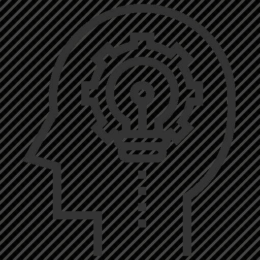 business, creative, idea, marketing, thinking icon
