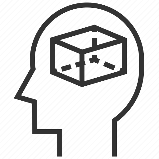 Empty, mind, abstract, brain, creative, head, idea icon - Download on Iconfinder