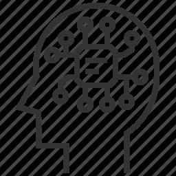 avatar, face, head, mind, philosophy, thinking, user icon