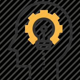creative, design, graphic, idea, thinking, tool icon