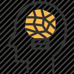 business, creative, idea, seo icon