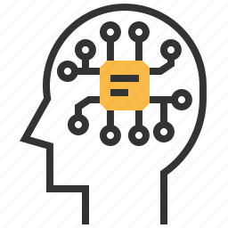 brain, mind, philosophy, think icon