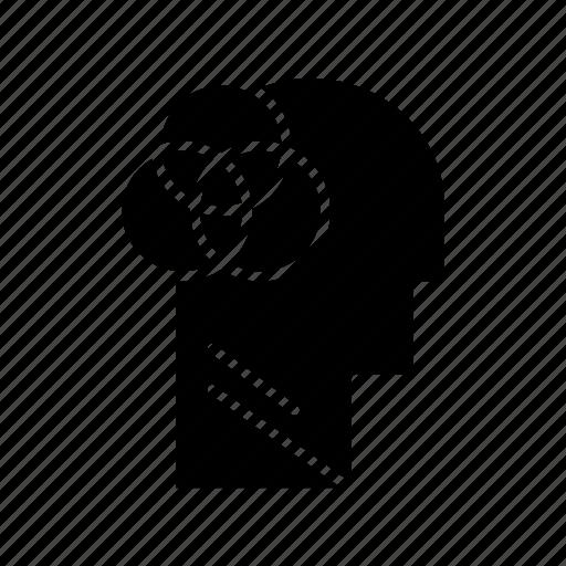 head, human, intelligence, intelligent icon