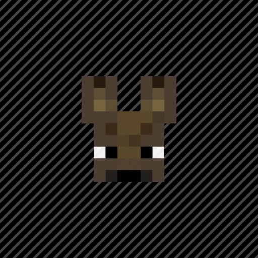 Animals Bat Game Head Minecraft Pixels Icon