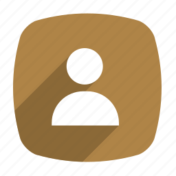 contacts, friend, human, long shadow, people, phonebook icon