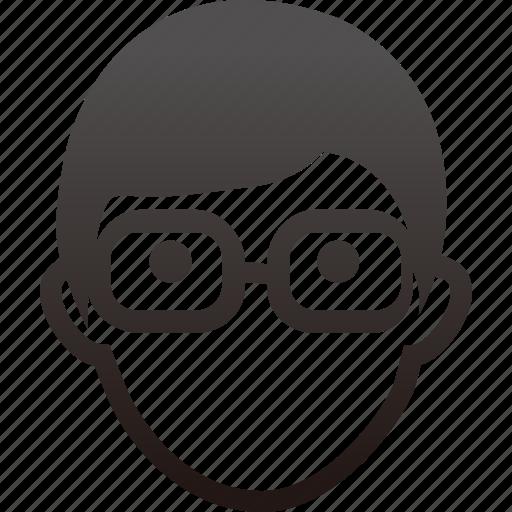 account, human, male, man, men, people, person, profile, teacher, user icon