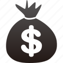 budget, dollar, money, payment, shopping, wallet icon