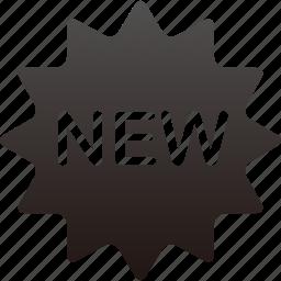 ecommerce, new, shop icon