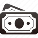 cash, currency, finance, money, paper icon