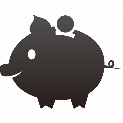 bank, business, buy, coin, finance, money, payment, piggy, shopping icon