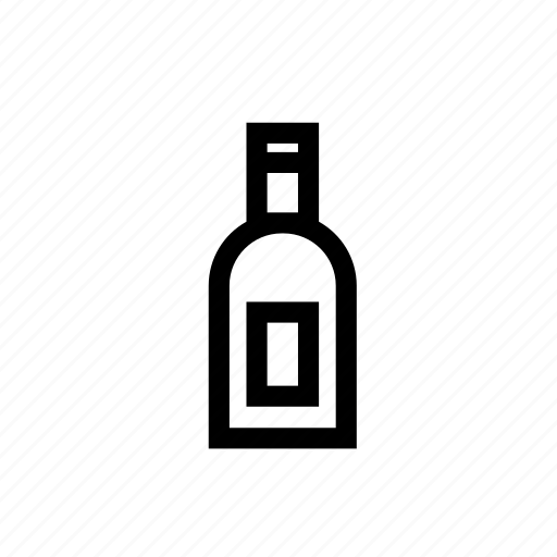 bar, bottle, business, shop, whisky bottle, wine, wine bottle icon