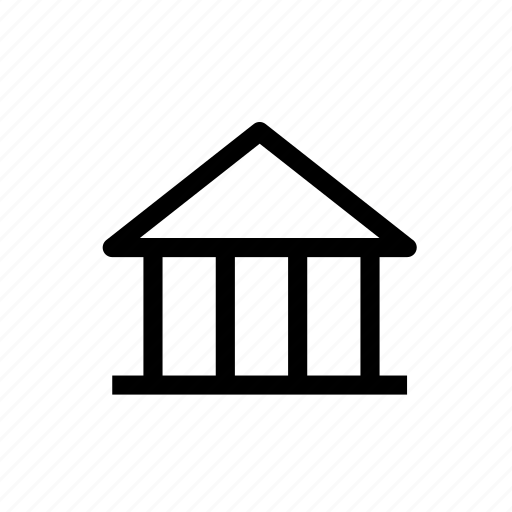 bank, bank account, banking, building, business, finance, money icon