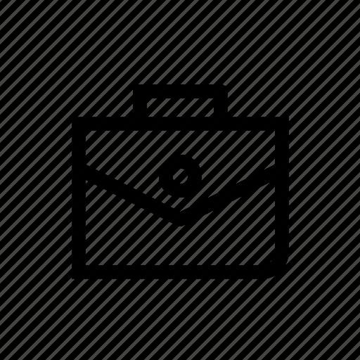 bag, briefcase, business, business bag, documents bag, finance, portfolio icon