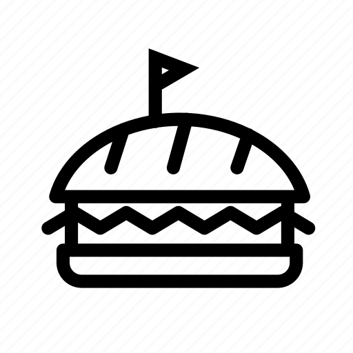 burger, cheeseburger, delicious, fast food, food, junk food, restauran icon