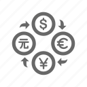 business, currency, finance, money, stock icon