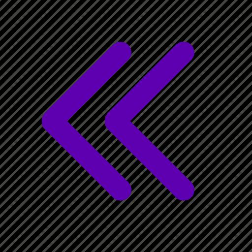 Arrow, left, arrows, back, move, previous icon - Download on Iconfinder