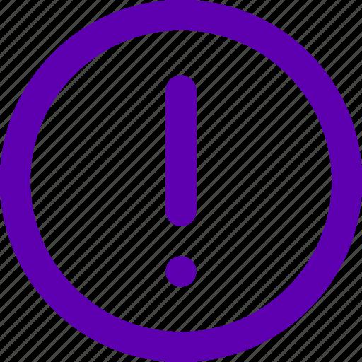 Warning, alarm, alert, error, attention, danger icon - Download on Iconfinder