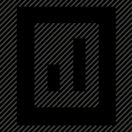 bar graph, chart, data, graph, stats icon