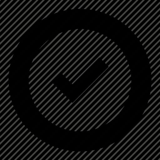 check mark, checkmark, complete, done, finish icon