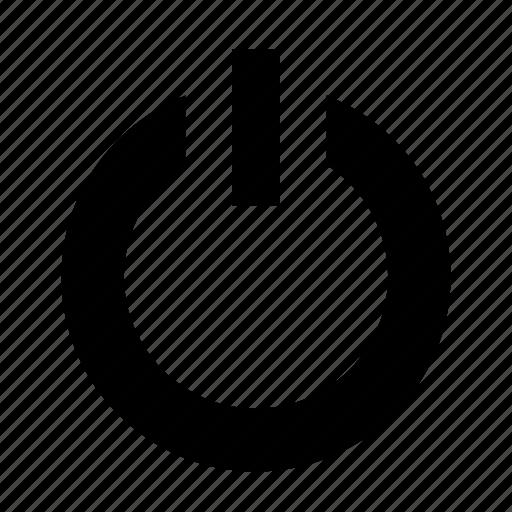 begin, power, power button, start, turn on icon