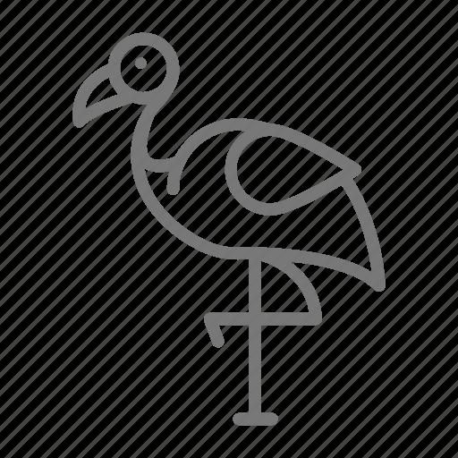 Bird, flamingo, pink, zoo icon - Download on Iconfinder