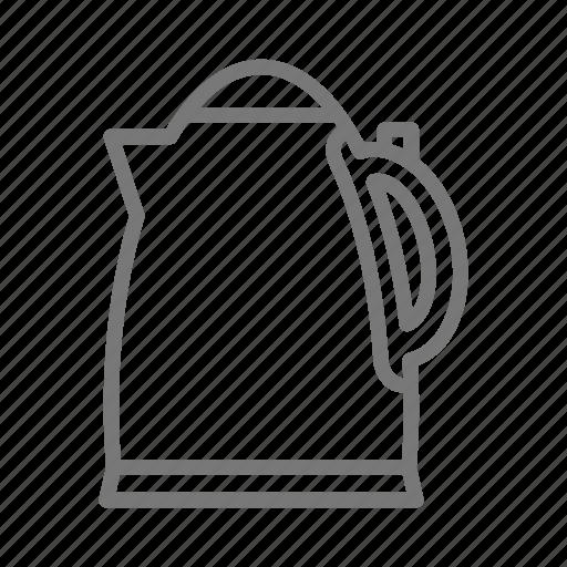appliance, boil, coffee, electric, kettle, tea icon