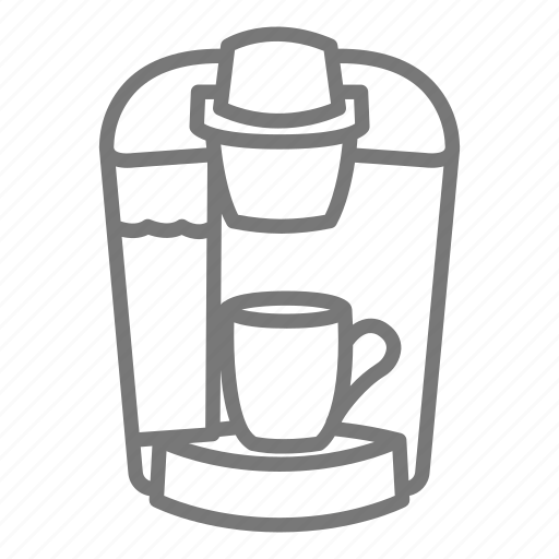 appliance, coffee, cup, keurig, maker, pod icon